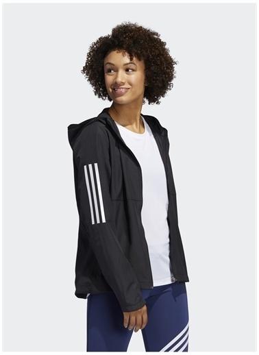adidas adidas FM6928 OWN THE RUN JKT Kadın ZipCeket Siyah